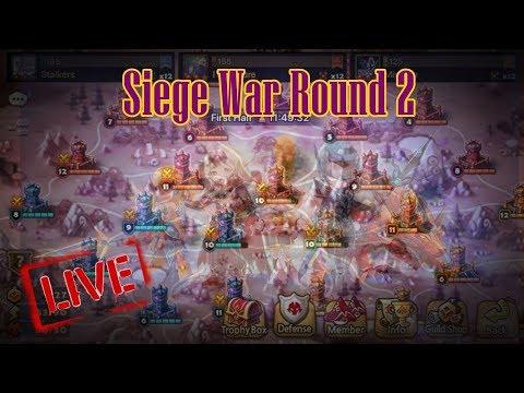 AA - SMW Siege War Round 2 Stalkers gogo รอบสองเริ่มแล้วลุยยยย