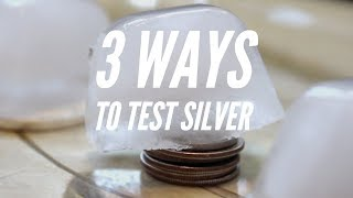 Silver Ice Test Race! And 3 Tips to Identify Solid Silver Coins