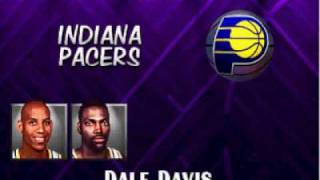 NBA Hangtime - Complete Team Roster