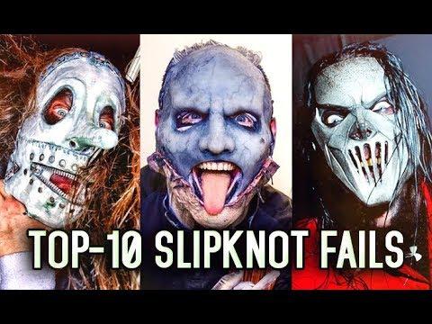 TOP 10 SLIPKNOT FAILS ON STAGE