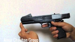 Blanca Metal Air Pistol - How to add BB and Pelets