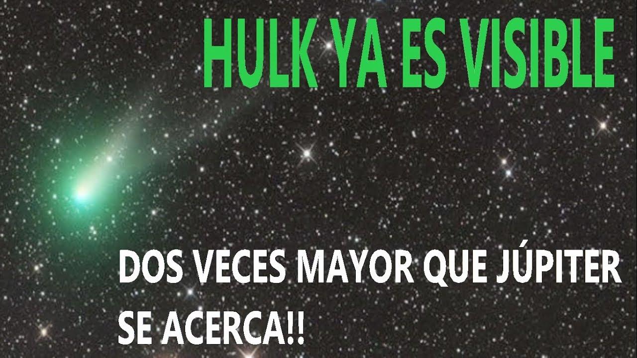 Resultado de imagen para cometa hulk