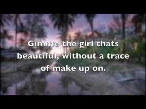 Gimme that girl Joe Nichols lyrics on screen