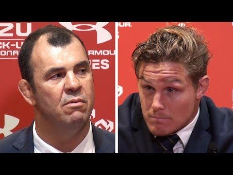 Wales v Australia - Michael Cheika & Michael Hooper Full Post Match Press Conference