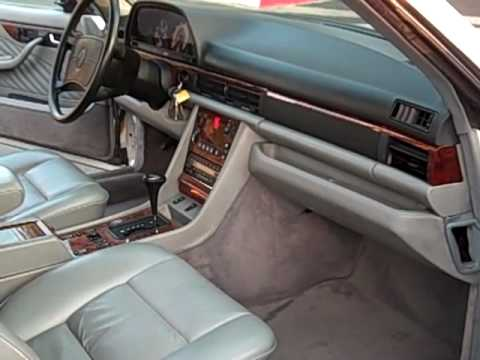 1990 Mercedes Benz 560 sec Coupe