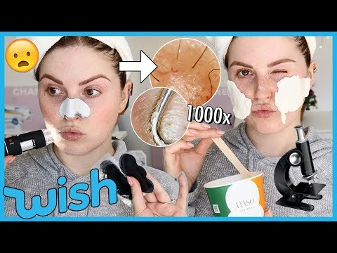 Trying WISH PORE STRIPS under a MICROSCOPE! ? & more! thumbnail