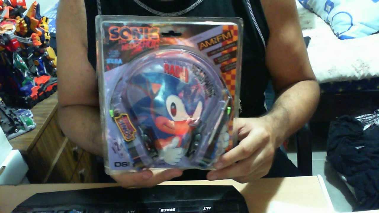 Sonic The Hedgehog Lightweight Headphone Radio Review Youtube