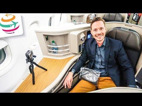 Wirklich? Eine First Class In Der A321 Von American Airlines!    GlobalTraveler.TV