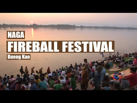The mysterious Fireball Festival on the Mekong River