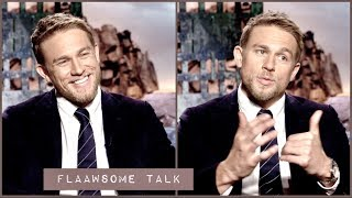 Charlie Hunnam On The Effect He has on WOMEN - How his Girlfriend and Cat keeps him grounded