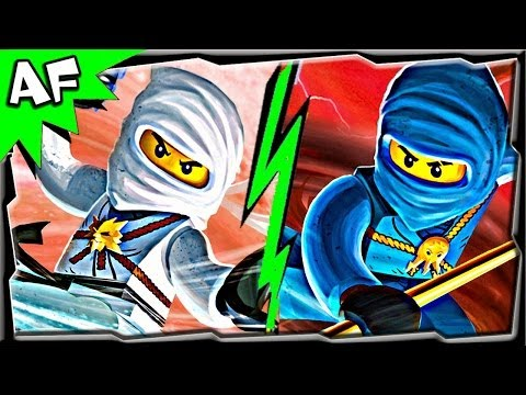 Ninjago JAY vs ZANE - Lego Battle #4 CGI film