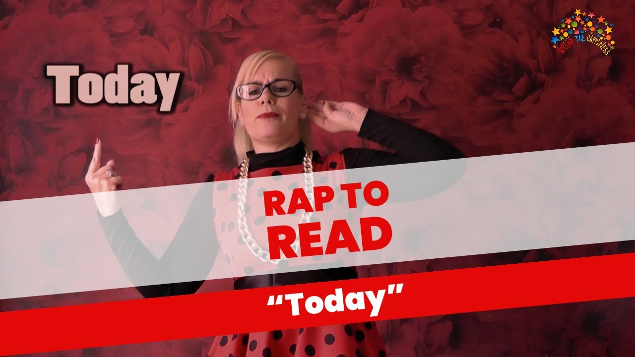 Rap to Read - Today - YouTube