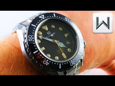 timeless design 8e90f 59bc7 GRAND SEIKO HI-BEAT DIVER SBGH255 PROFESSIONAL Luxury Watch ...