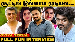 Oviya Team Funny Interview | Surendar | Kushi | Harshala | Colors Tamil