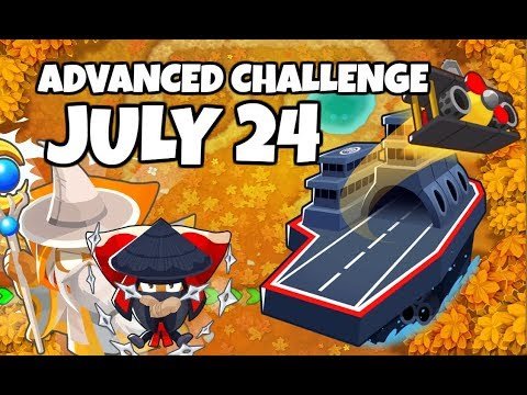 BTD6 Advanced Challenge - At The Speed Of Light 2 - July 24 2019