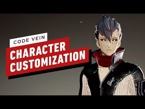 Code Vein - 9 Minutes of Character Customization