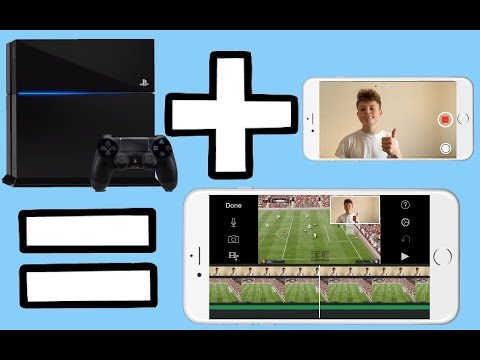 How To Make PS4 videos with an iPhone!!!!