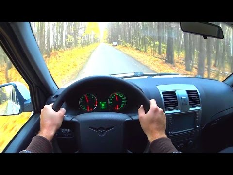 2016 UAZ Patriot POV Test Drive