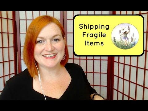 How I Ship Fragile Items - My Process for Shipping Plates for Ebay and Etsy