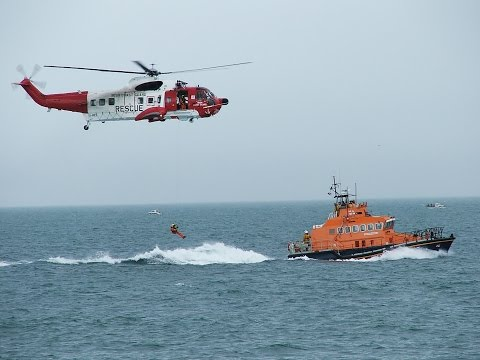 Good job as save our life. Irish coast guard helicopter.
