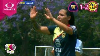 Sigue la racha ganadora del América | Pumas 1 - 2 América | Liga MX Femenil - J15