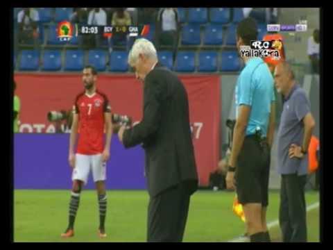 فعل مشين من لاعب غانا هاريسون أفول ضد كوبر ,