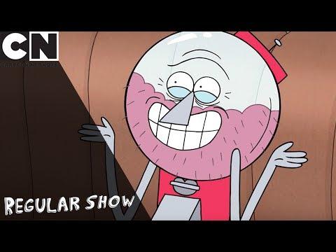 Regular Show | Benson's Space Message | Cartoon Network