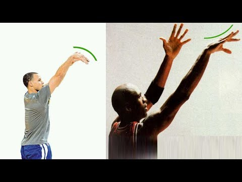 Stephen Curry & Michael Jordan Soft Hand & Tough Hand 10 Years Experience Intro
