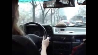 Уроки вождения для женщин #2