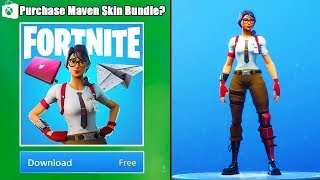 How To Get MAVEN skin on XBOX Fortnite! | Maven Skin Bundle on Xbox and PC (Fortnite)