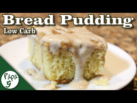 Bread Pudding Cake – Warm and Delicious! – Low Carb Keto Dessert Recipe