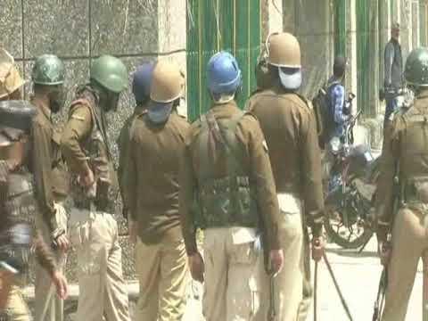 Video: Clashes at Amar Singh College Srinagar