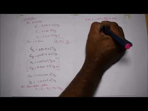 Solved Problem based on Steam Nozzle - M3.13 - Thermal Engineering in Tamil