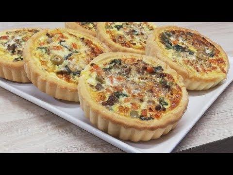 quiches-briochÉes-au-bŒuf-hachÉ-facile-(cuisine-rapide)