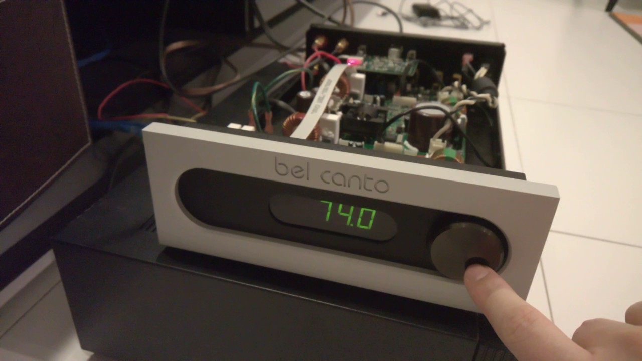 Bel Canto S300iU with ICEpower 300ASC upgrade - Youtube