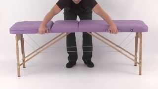 Массажный стол Art of Choice DEN Comfort(Трехсекционный деревянный массажный стол DEN Comfort - http://artofchoice.com.ua/ru/catalog/3sectionwood/DEN_Comfort Массажный стол DEN ..., 2013-09-23T13:36:00.000Z)