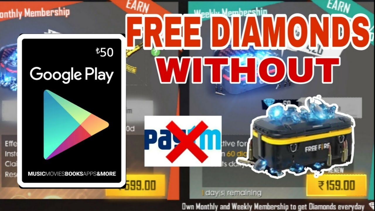 Freefire How To Get Free Diamond In Free Fire Without Paytm Paisa Go App Best Earning App Youtube