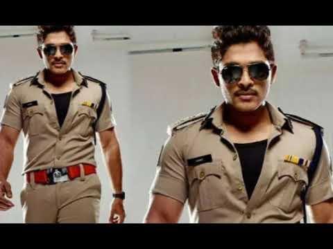 Allu Arjun entry ringtone as a police officer |  Trance