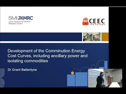 Grant Ballantyne - Development of the Comminution Energy Cost Curves