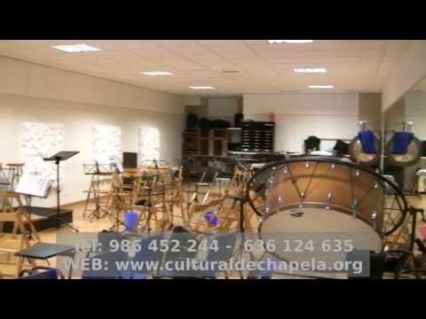 Escuela de música de chapela Instalaciones