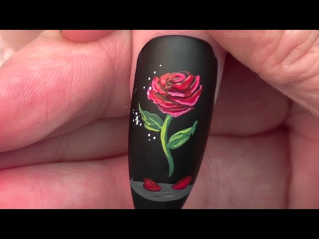 Beauty And The Beast Nail Art Design Popsugar Beauty Middle East