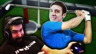 Golfing With Shroud - Funny Moments