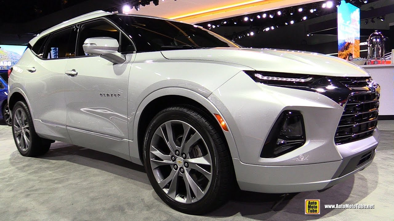 2019 Chevrolet Blazer - Exterior and Interior Walkaround - Debut at 2018 LA Auto Show - YouTube