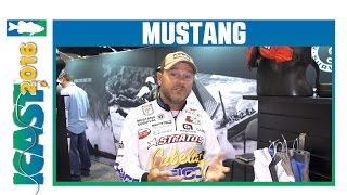 New Mustang Fishing Glove Styles with Elite Series Pro Mike McClelland | ICAST 2016