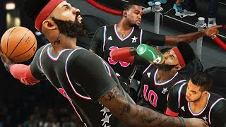 NBA 2k15 MyCAREER Gameplay S2 - ALL-STAR GAME! Durant Argues With Fan! Human Highlight Reel