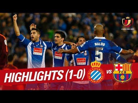 Resumen de RCD Espanyol vs FC Barcelona (1-0)