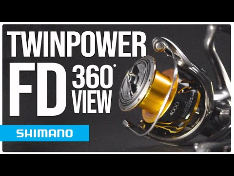 Twin Power FD 360º Degree View | Shimano Fishing EU