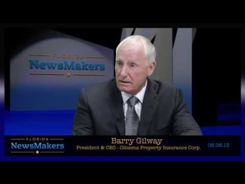 Florida NewsMakers: Citizens Property Insurance Corp. President & CEO Barry Gilway