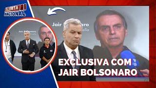 Exclusivo: Sikera Jr. fala com o presidente Jair Bolsonaro ao vivo no Alerta Nacional