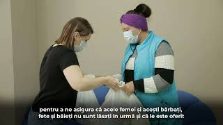 Support offered to vulnerable families from the Republic of Moldova during COVID-19 pandemic